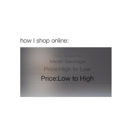 Online shopping on lowest price