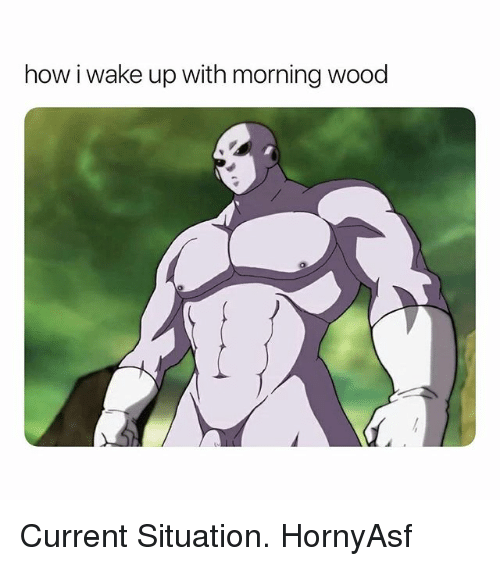 Dank Memes, How, and Wake: how i wake up with morning wood Current Situation. HornyAsf