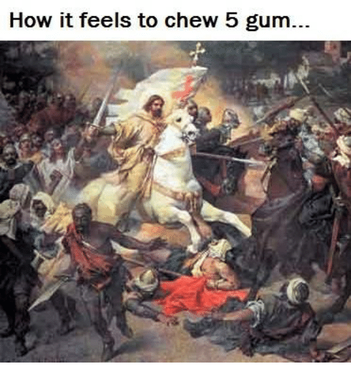 Funny 5 Gum Memes of 2017 on SIZZLE | Chewing 5 Gum