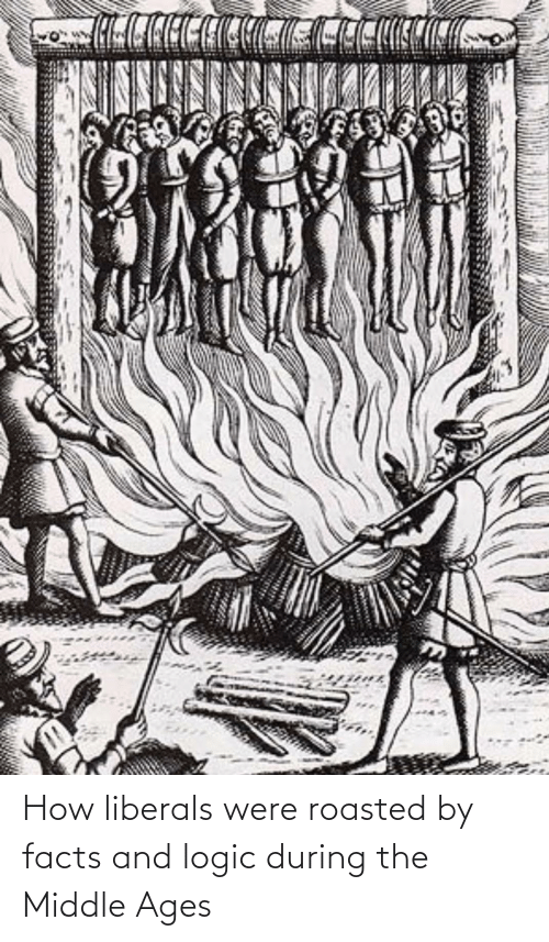 middle ages: How liberals were roasted by facts and logic during the Middle Ages