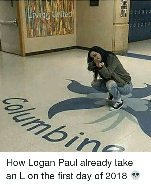 Memes, Take an L, and 🤖: How Logan Paul already take an L on the first day of 2018 💀