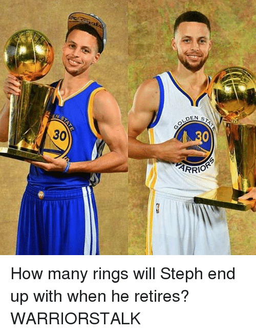 Basketball, Golden State Warriors, and Sports: How many rings will Steph end up with when he retires? WARRIORSTALK