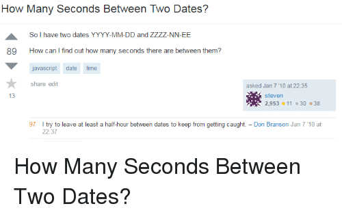 How many days between dates in Perth