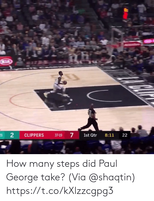 George: How many steps did Paul George take?  (Via @shaqtin)  https://t.co/kXlzzcgpg3