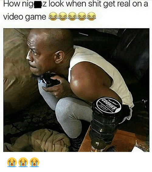 Nigs: How nig AZ look when shit get real on a  video game 😭😭😭