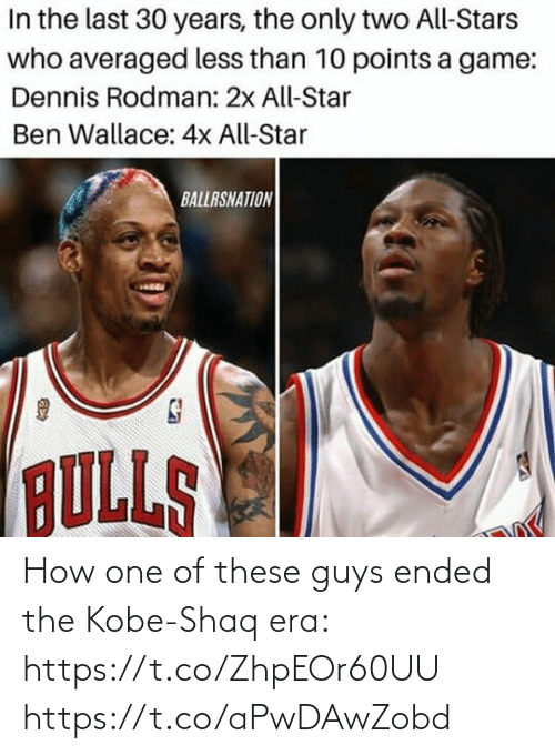 Shaq: How one of these guys ended the Kobe-Shaq era: https://t.co/ZhpEOr60UU https://t.co/aPwDAwZobd