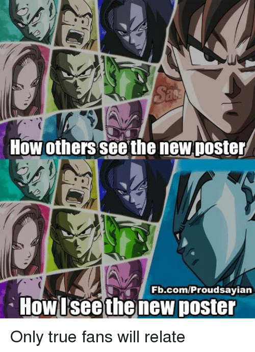 Memes, True, and fb.com: How others see the neWposter  Fb.com/Proudsayian  Howlseethe new poster Only true fans will relate