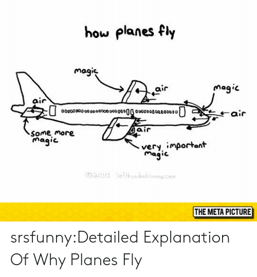 hor: how planes fly  magie  air  mag.c  air  ooaoo00000o00400o  air  Some more  magic  very important  magic  oao !ο  \e??hor, dedtoons.con  THE META PICTURE srsfunny:Detailed Explanation Of Why Planes Fly