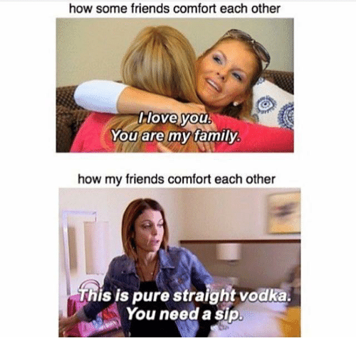 How can I comfort my friend?