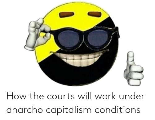 Anarcho-Capitalism: How the courts will work under anarcho capitalism conditions