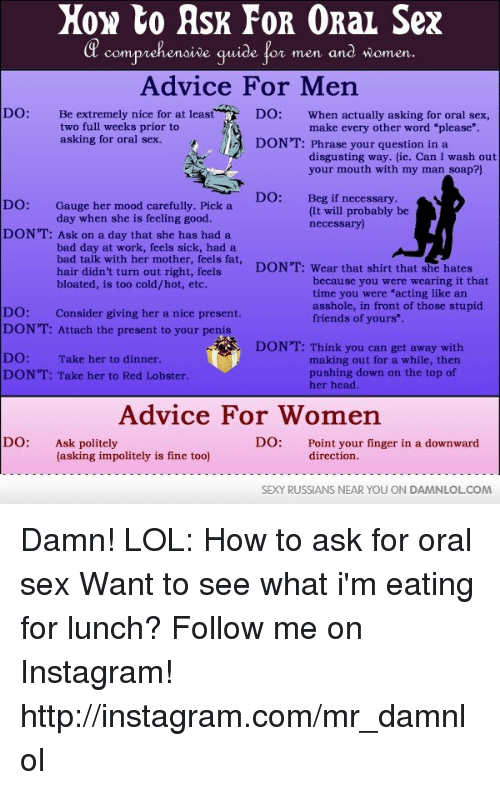Ask For Oral Sex 80