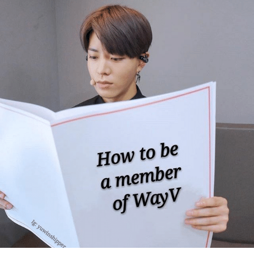 How To Be A: How to be  a member  of WayV