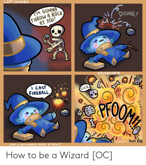 How To Be A: How to be a Wizard [OC]