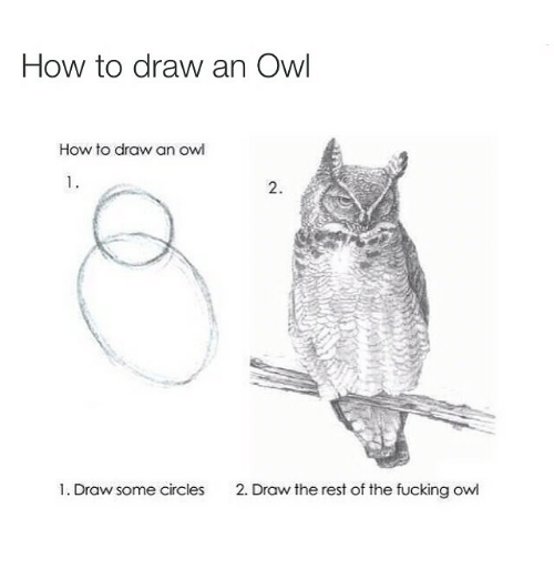 ️ 25+ Best Memes About Drawing an Owl | Drawing an Owl Memes