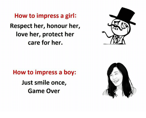 how to impress your girlfriend