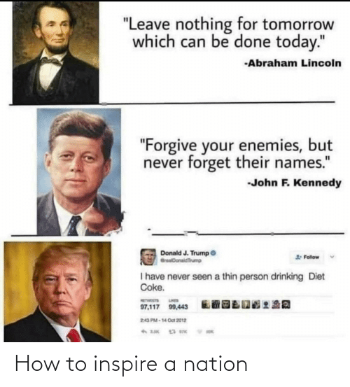 inspire: How to inspire a nation
