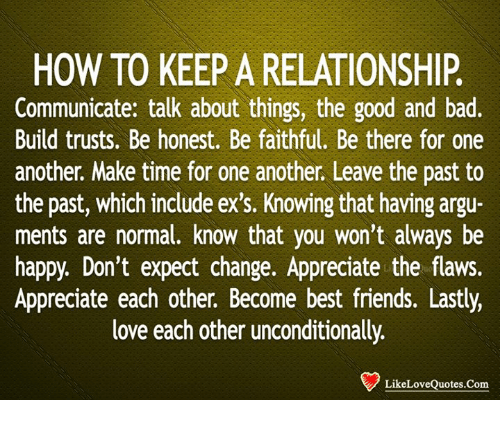 Bad Things To Do In A Relationship