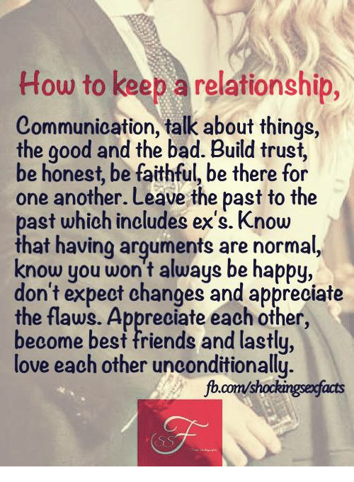 how to be maintain a relationship