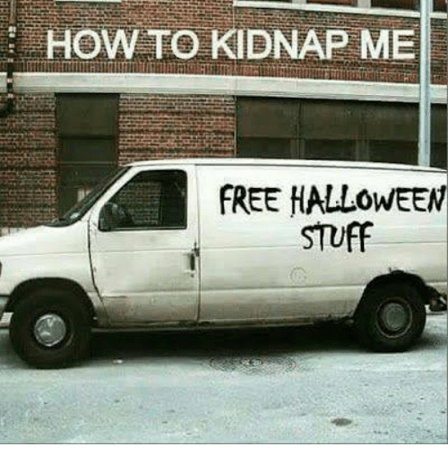 Kidnapped Me: HOW TO KIDNAP ME  FREE HALLOWEEN  STUFF