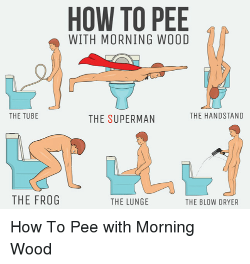 how to stop morning wood