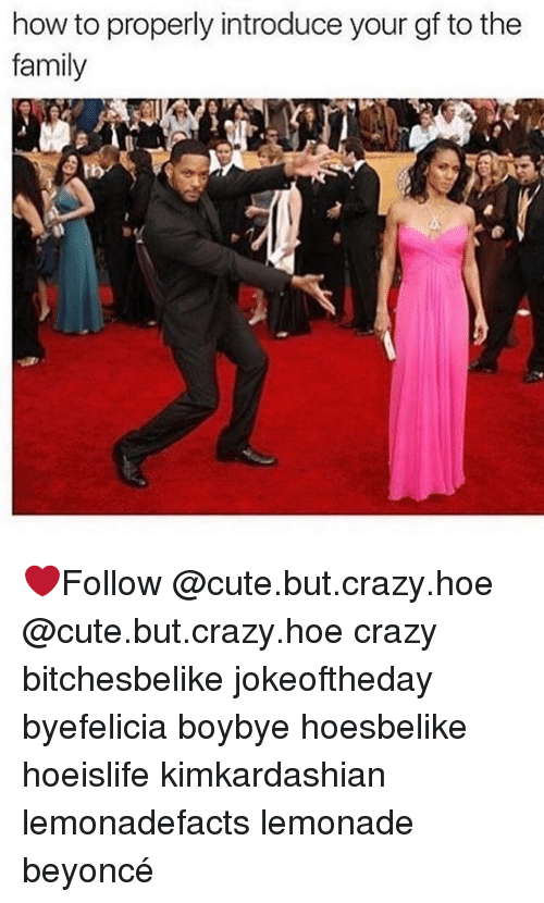 Beyonce, Hoe, and Hoes: how to properly introduce your gf to the  family ❤️Follow @cute.but.crazy.hoe @cute.but.crazy.hoe crazy bitchesbelike jokeoftheday byefelicia boybye hoesbelike hoeislife kimkardashian lemonadefacts lemonade beyoncé