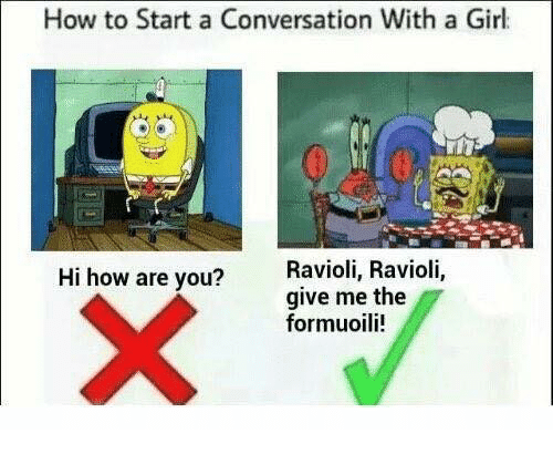 How to begin dating a girl