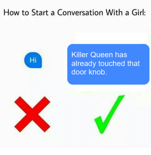 how to start with girl