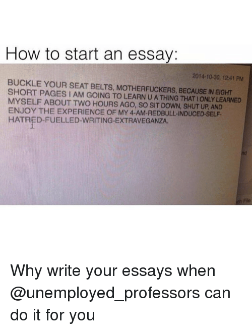 How to start an expository essay with a quote