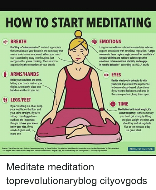 best way to meditate at home pdf