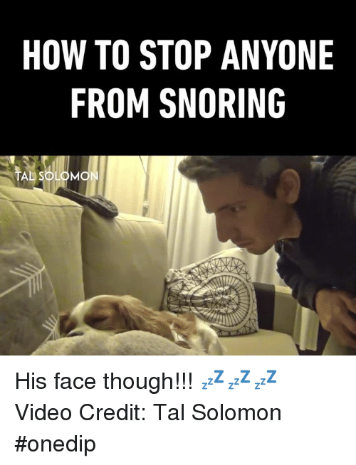 how to stop snoring reddit