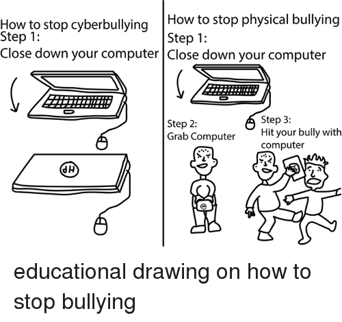 more destructive than physical bullying cyber bullying Although [cyber-bullying] is less physical than traditional forms of bullying, it can have more devastating and longer-lasting effects.