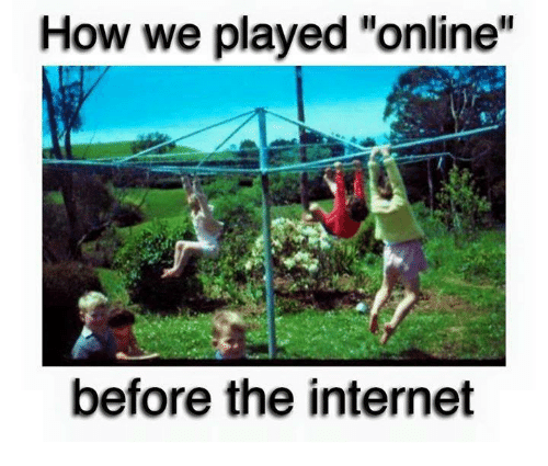 "Internet, Memes, and 🤖: How we played ""online  before the internet"
