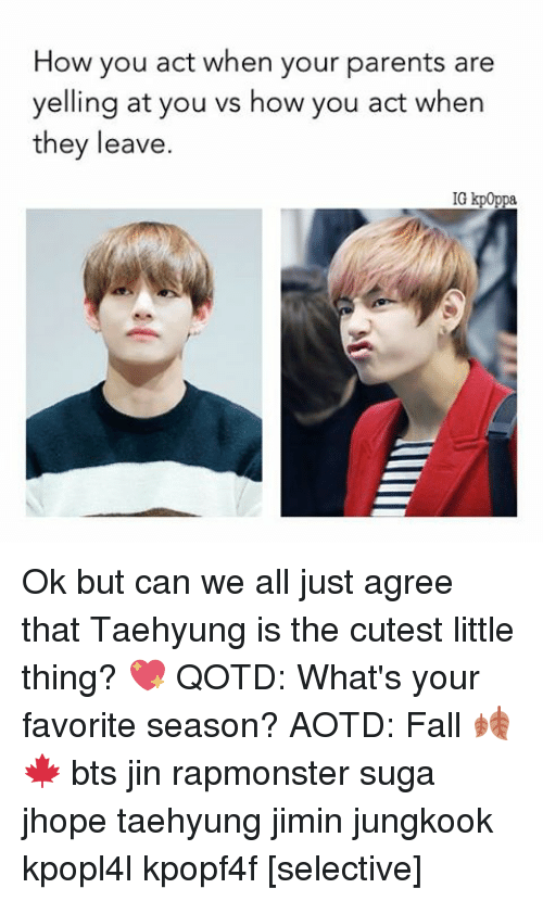 When Your Parents Yell At You: 25+ Best Memes About BTS And Parents
