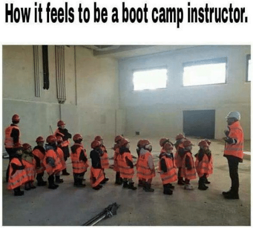 Military, Feelings, and  Camping: Howit feels to beaboot camp instructor