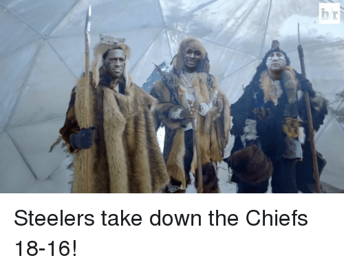 Sports: hr  G Steelers take down the Chiefs 18-16!