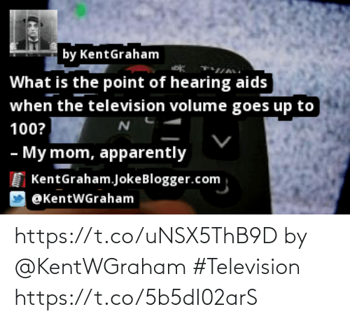 Television: https://t.co/uNSX5ThB9D by @KentWGraham #Television https://t.co/5b5dI02arS