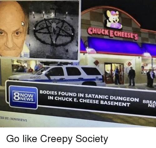 Found In Basement: 25+ Best Memes About Chuck E Cheese And Creepy