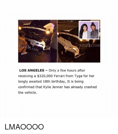 25+ Best Memes About Tyga, Kylie Jenner, Birthday, And