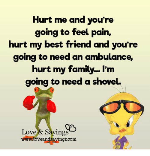 Sad Boy Alone Quotes: Hurt Me And You're Going To Feel Pain Hurt My Best Friend