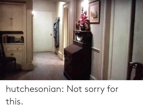 not sorry: hutchesonian:  Not sorry for this.