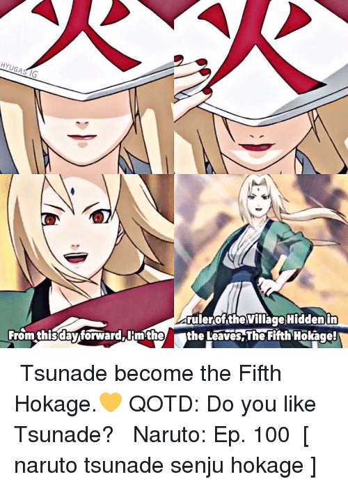 25+ Best Memes About Fifth Hokage | Fifth Hokage Memes