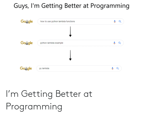 Getting Better: I'm Getting Better at Programming