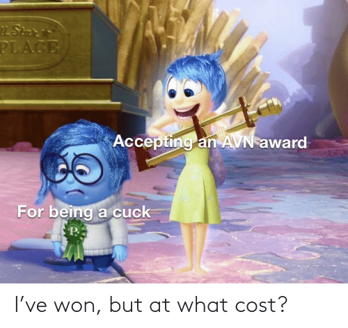 Cost: I've won, but at what cost?