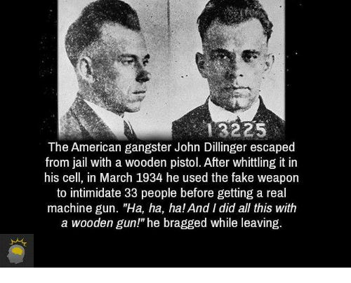 a biography of john dillinger a gangster July 22, 1934 - outside chicago's biograph theater, a barrage of fbi bullets brings down john dillinger as the body of public enemy number one crumbles to the ground, one of the strangest, most.