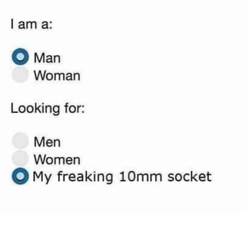 i am looking for a man
