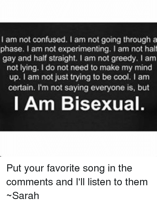 Confused Memes And Bisexual I Am Not Going