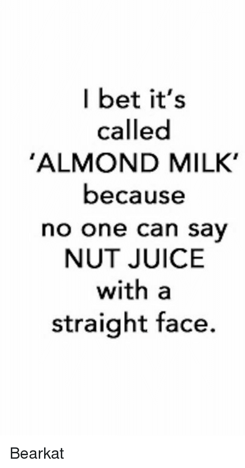how to say almond milk in japanese