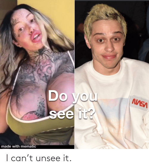 Trashy: I can't unsee it.