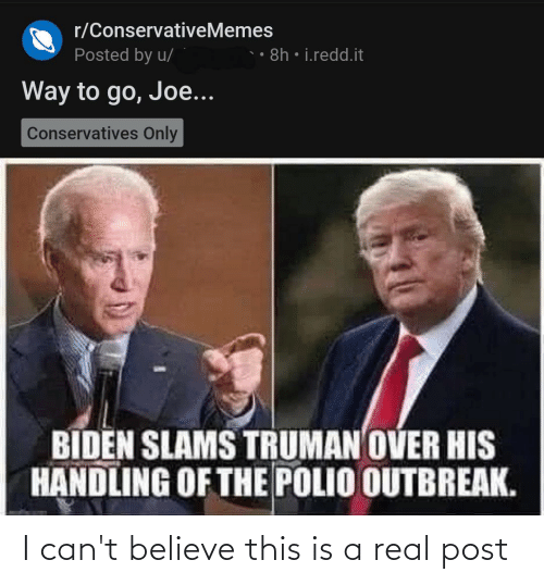Cant Believe: I can't believe this is a real post