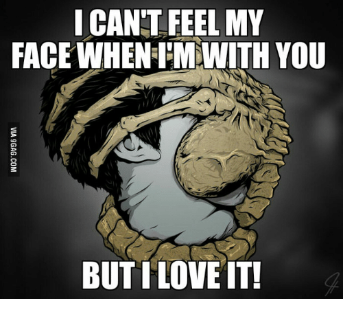 What Is The Song I Cant Feel My Face About: I CANT FEEL MY  FACEWHENEIMMWITH YOU  BUT ILOVE IT!